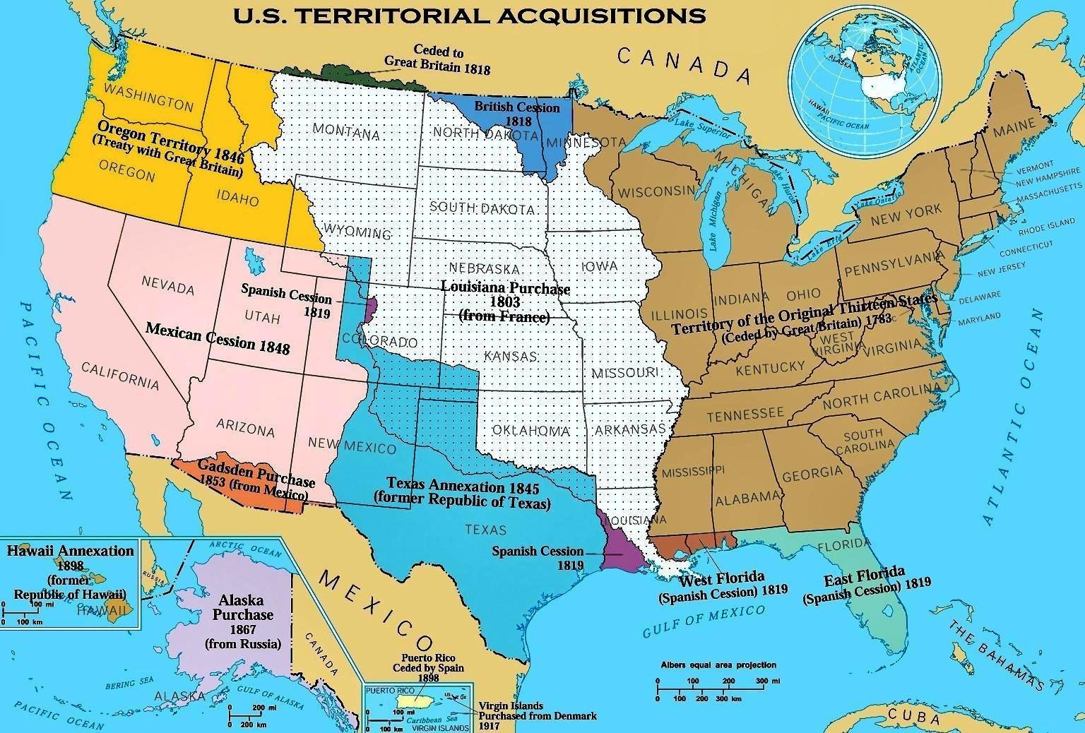 Mapa De Eeuude America.Imperios De Norteamerica Canada Ee Uu Mexico Y Haiti